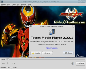 Totem Movie Player